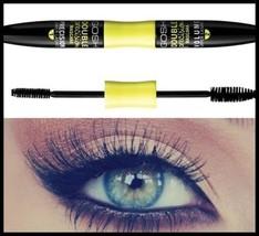 Gosh Cosmetics Double Precision Black Mascara With Two Brush Perfect Mak... - $12.64