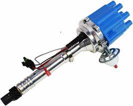 Pro Billet Series R2R Distributor GMC Chevy SBC BBC V8 327 350 396 454 Blue image 6