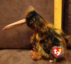 "Ty Beanie Buddy Kiwi Bird Named Beak 1998 With Tags Korea 9"" - $7.99"