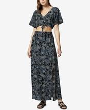 Sanctuary Women's Printed Crop Top & Maxi Skirt Set Navy Wildflower $159... - €44,52 EUR