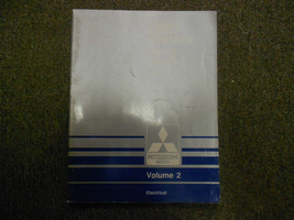1989 MITSUBISHI Van Wagon Service Repair Shop Manual Volume 2 Electrical OEM x - $62.60