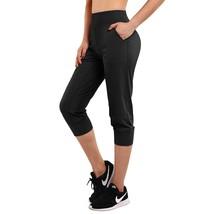 Capri Joggers Womens Lightweight Yoga Ny Ery Soft Stretch Pockets Swea - $36.99