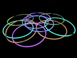50 Jumbo 22-Inch Glow Sticks for Parties and Kids Birthdays - Light Up T... - £17.71 GBP