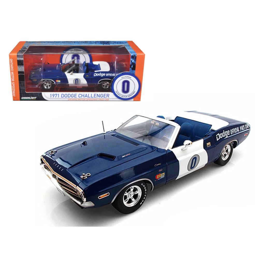 1971 Dodge Challenger Convertible Ontario Speedway Pace Car Limited to 1500pc 1/