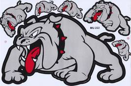 D147 Bulldog dog Sticker Decal Racing Tuning Size 27x18 cm / 10x7 inch - $3.49