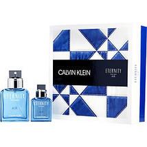 Eternity Air By Calvin Klein Edt Spray 3.4 Oz & Edt Spray 1 Oz - $73.00