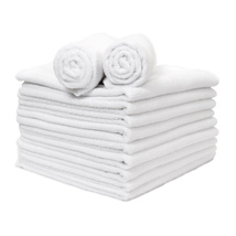 12 Pack of Microfiber Hand Towels- 16 x 27- White - $19.99