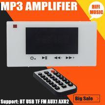 MP3 Amplifier Audio System Home Music Ceiling Speaker Bluetooth Digital ... - $81.99