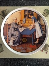 Norman Rockwell Mother's Day 1983 Collector Plate Add 2 Cups & A Measure of Love - $18.99