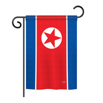"North Korea - 13"" x 18.5"" Impressions Garden Flag - G158328 - $17.97"
