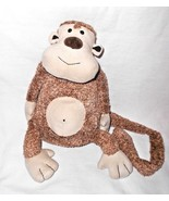 Jellycat Tum Tum Monkey TumTum Plush Stuffed Animal Brown Tan Long Tail - $17.69