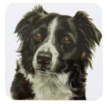 Waggy Dogz Negro Perro Collie de la Frontera Cachorro Hecho en el Ru Regalo - $9.00