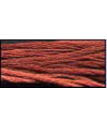 Used Brick (CCT-090) 6 strand hand-dyed cotton floss Classic Colorworks - $2.15