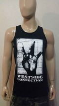 West Side Connection Tank Top Nwa Death Row 2PAC Ice Cube MAC-10 Snoop Irt La - $17.99+