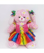 "Build A Bear Workshop EASTER SPRING BUNNY Pink w/ Daisy 16"" Plush Toy Dress - $9.46"