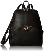 Scarleton Chic Casual Backpack H1608 Black - $42.95