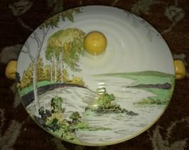 Spode Copeland ROYAL JASMINE, SILVER BIRCH, Covered Vegetable ART DECO - $71.06