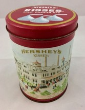 Vintage 1990 Hershey's Kisses Hometown Series #4 Collectible Metal Tin C... - $8.59