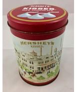 Vintage 1990 Hershey's Kisses Hometown Series #4 Collectible Metal Tin C... - $8.59