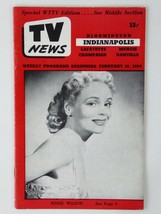 Ronald Reagan Marie Wilson Vintage TV News Weekly Programs Magazine 1954... - $29.65