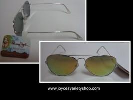 Panama Jack Silver Metal Sunglasses NWT 100% UVA UVB Protection - $10.99