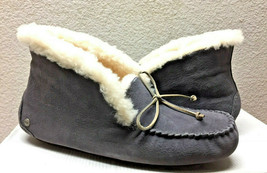 Ugg Alena Nightfall Shearling Lined Mocassins Slippers Us 6 / Eu 37 / Uk 4 - $83.22