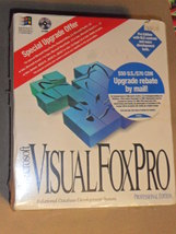 Microsoft Visual Fox Pro 3.1 version WINDOWS Brand New Old Stock - $199.00