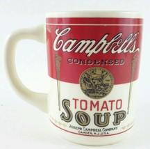 Mug 125th Anniversary Campbells Condensed Tomato Soup Vintage USA Coffee... - $12.30