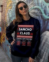 I Have A Christmas Gift For You Crewneck Sweatshirt Black Made in USA - $30.05