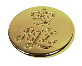 "Ralph Lauren RLL Gold Color Replacement Metal sleeve button .60"" - $3.35"