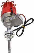 Chrysler Dodge Mopar R2R Distributor 273 340 360 8mm Spark Plug 45K Volt Coil image 3