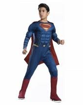 Nuovo Rubie's Justice League Superman Bambino Varie Taglie