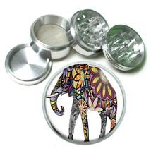 "Elephant Art D24 Aluminum Herb Grinder 2.5"" 63mm 4 Piece - $13.81"