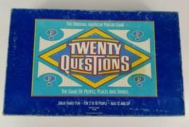 Twenty Questions Board Game The Original American Parlor Game Pressman - $9.49