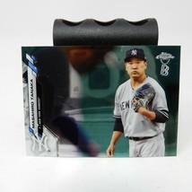 2020 Topps Chrome Ben Baller Masahiro Tanaka Rare Base Card Yankees #166... - $1.93