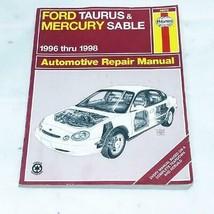 Haynes Automotive Repair Manual Book 36075 1996-1998 Ford Taurus Mercury Sable - $8.99