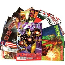 Iron Man 15 Issue Comic Book Lot Marvel Movie Noir Rescue SHIELD Pepper ... - $39.55