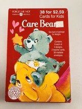 Vintage 1995 Care Bear American Greetings Box Of Valentines Cards New  - $19.79