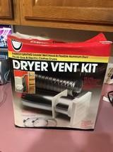 Dryer Vent Kit Oatey 8ft. X 4in. Ships N 24h - $27.42