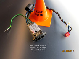 HITACHI 42HDF39 - AC Power 110/120 Noise Filter with cables - $11.30