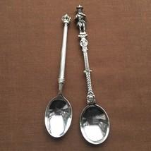 Vintage - NIEKERK BROS Holland Silverplate Figural Souvenir Spoons - The... - $19.99