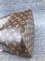 100% Authentic Louis Vuitton Monogram Neonoe Bucket Bag Pink Receipt Mint image 4