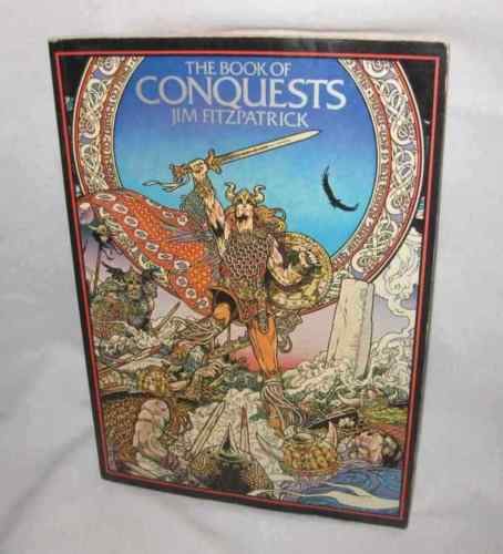 The Book Of Conquests Jim Fitzpatrick First Edition 1978