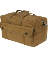 Coyote Brown Heavyweight Military Mechanics Standard Tool Bag - $16.99