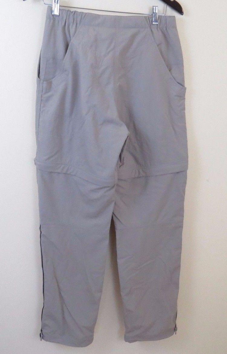 Mountain HARDWEAR Convertible Nylon Hiking Walking Pants Khaki Women's Size 6