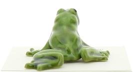 Hagen-Renaker Miniature Ceramic Frog Figurine Green Tree Frog image 2