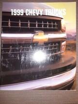 1999 Chevrolet Truck 26-page Brochure - Silverado S-10 Suburban Tahoe Blazer - $10.19