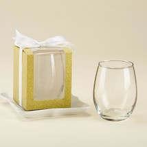 Gold 9 oz. Glassware Gift Box (3 Sets of 12)  - $29.99