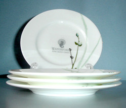 Waterford Willow 4 Bread & Butter Plates or Tidbit Party Set New - $46.90