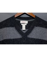 NEW Men's Banana Republic V-Neck Sweater Cashmere Cotton Angora Blend Gr... - $32.94